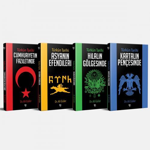Türk'ün Gizlenen Tarihi Seti - 4 Kitap