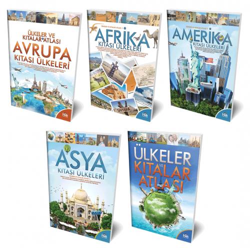 Ülkeleri Öğreniyorum 5 Kitap
