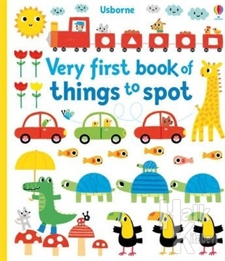 Very First Book Of Things To Spot (Ciltli)