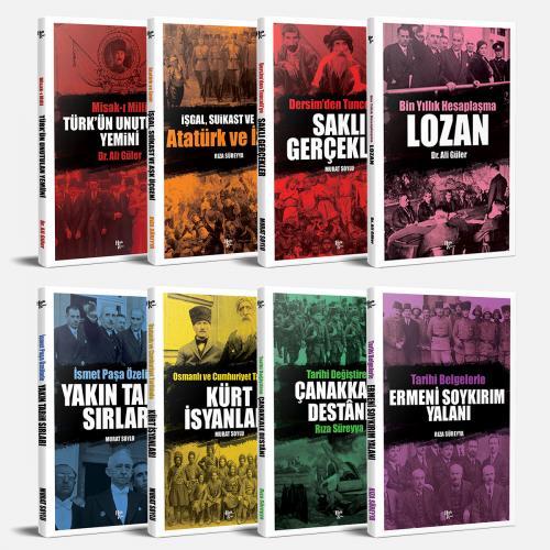 Yakın Tarih Sırları Seti - 8 Kitap - Ali Güler -Halkkitabevi