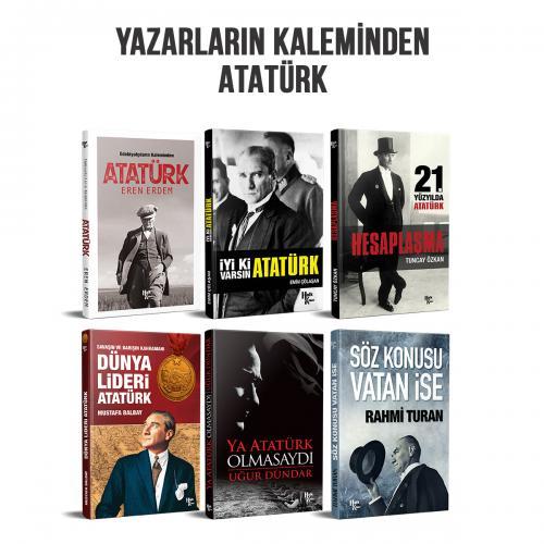 Yazarların Kaleminden Atatürk Kütüphanesi - 6 Kitap