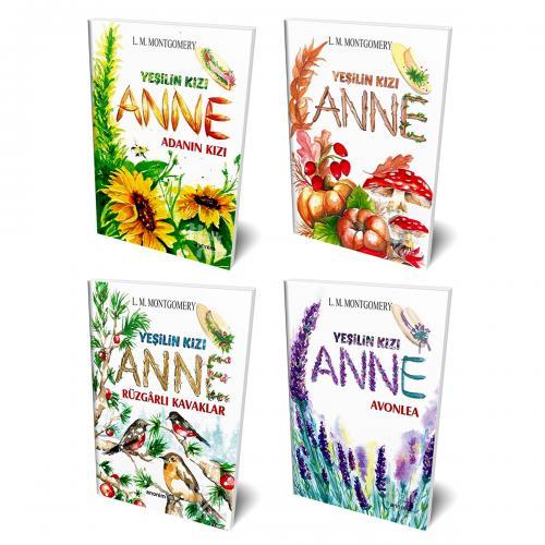 Yeşilin Kızı Anne 4 Kitap Bir Arada