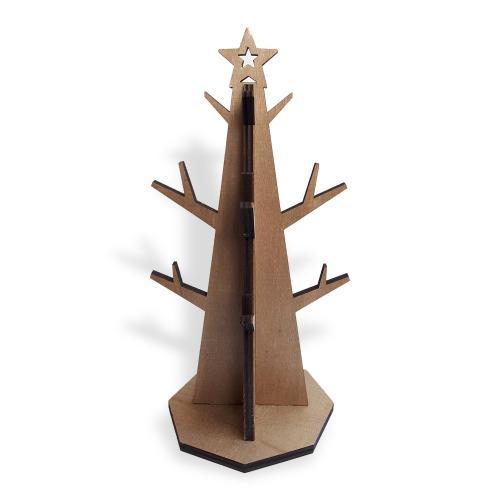 Yıldızlı Ağaç Ahşap Takı Standı