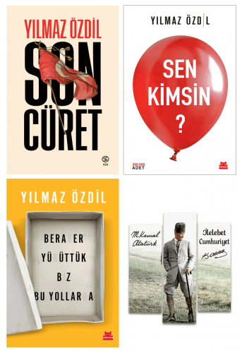 Yılmaz Özdil 3 Kitap - Ahşap Atatürk Magnet Hediyeli