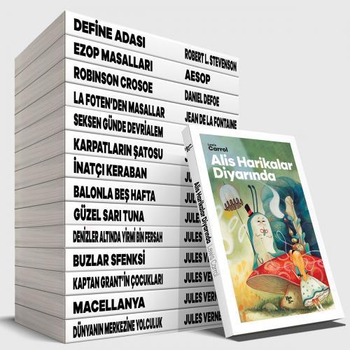 Zeka Geliştirici Çocuk Maceraları Seti - 15 Kitap