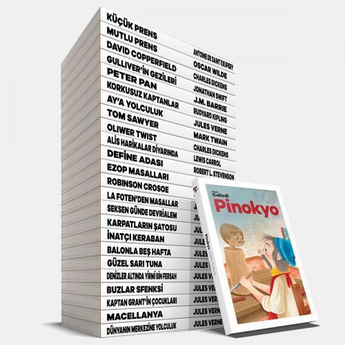 Zeka Geliştirici Çocuk Maceraları Seti - 25 Kitap