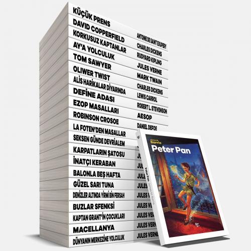 Zeka Geliştirici Çocuk Klasikleri Seti - 22 Kitap