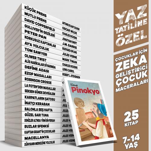 Yaz'a Özel Zeka Geliştirici Çocuk Maceraları - 25 Kitap